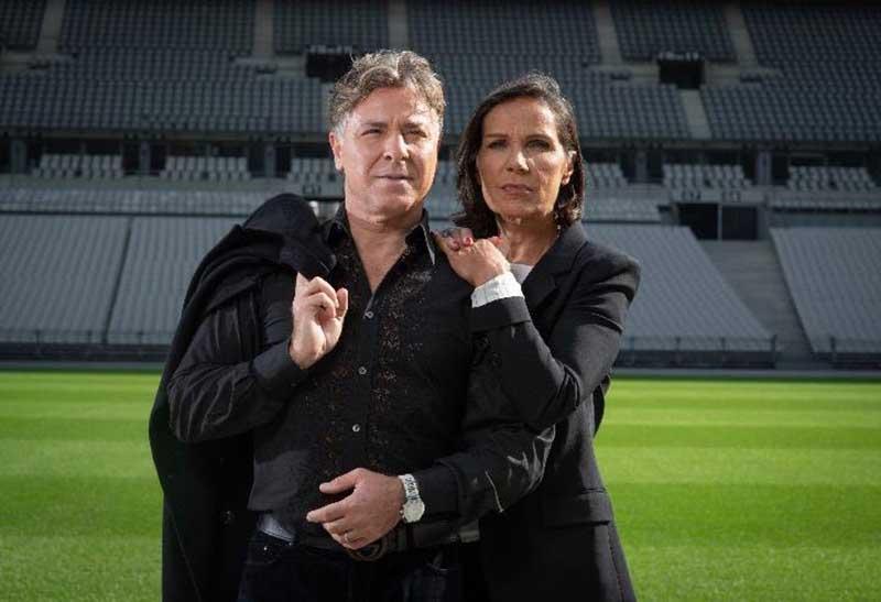 Beatrice et Roberto Alagna au stade de France